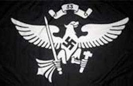 Nazi German Youth Flag Jungbann 33rd Troop