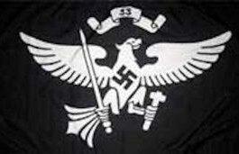 Nazi German Youth Flag Jungbann 33rd Troop