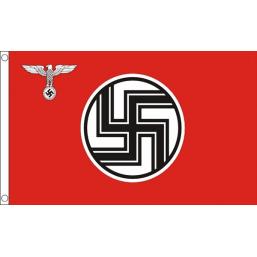 Nazi Reich Service Flag