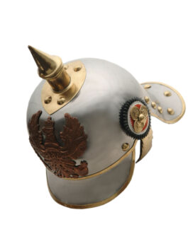 German Pickelhaube Helmet Full Size